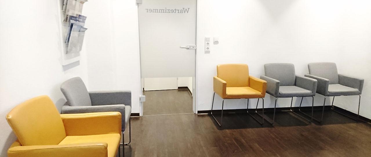Wartezimmer Dr. Bschorer Dinkelsbühl Zahnarzt